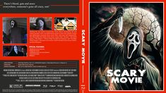 Scary Movie Blu-ray Custom Cover Scary Movies, Cover Design, Artwork, Movie Posters, Horror Films, Work Of Art, Film Poster, Horror Movies, Book Cover Design