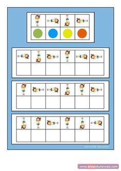 Montessori Activities, Kindergarten Activities, Educational Activities, Preschool Activities, Preschool Body Theme, Preschool Math, Coding For Kids, Math For Kids, Visual Perceptual Activities