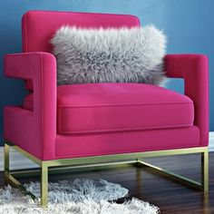 Rounding out your decor while providing sensible seating arrangements in small spaces, side chairs offer style and versatility to any interior design. Diy Chair, Chair And Ottoman, Wingback Chair, Loveseat Sofa, Swivel Chair, Recliner, Velvet Armchair, Barrel Chair, Shop Interiors
