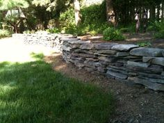 Natural Stone Walls and your Landscaping