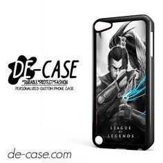League Of Legends Yasuo For Ipod 5 Ipod Touch 5 Case Phone Case Gift Present YO