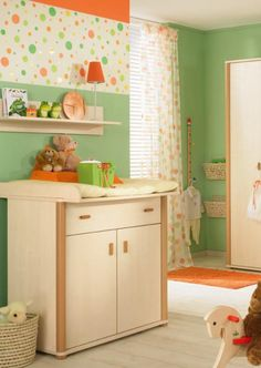 Colorful #babynursery idea http://www.topsecretmaternity.com/