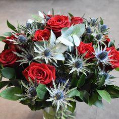 Chardons ardents   #saintvalentin #bouquet #fleurs #flower #flowersdelivery