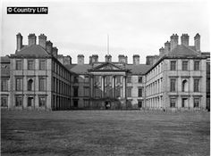 Hamilton Palace    The south front of Hamilton Palace, which was designed in 1695 by James Smith for William 3rd Duke of Hamilton and his wife Duchess Anne. The house was demolished in 1921. Pub Orig CL 07/06/1919