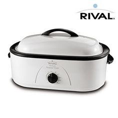 Rival 8-Quart Roaster Oven $32