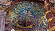 Apse mosaic | Basilica Santa Maria Maggiore, Rome, Italy