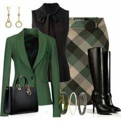 Mode Outfits, Fall Outfits, Fashion Outfits, Womens Fashion, Office Outfits, Office Attire, Outfit Winter, Woman Outfits, Dress Fashion