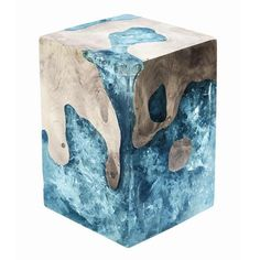 Custom Cracked Resin - Wood How to Crafts Concrete Crafts, Concrete Projects, Resin Crafts, Cement Art, Concrete Art, Epoxy Resin Art, Wood Resin, Resin Furniture, Furniture Design
