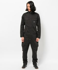 AVIREX* Stretch Dobby Jump Suit