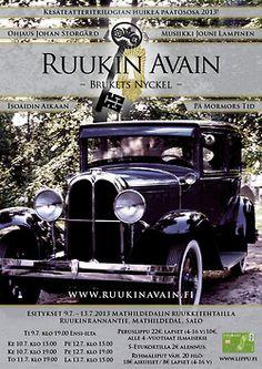 Heinäkuussa 2013Ruukin Avaimenviimeinen osaIsoäidin aikaan. Kortti No.2 Antique Cars, Vintage Cars