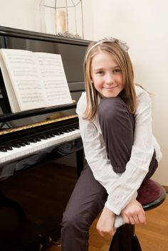 "Young girl and her piano - excellent blog post entitled ""How To Teach Piano to Nancy Neverpractice"""