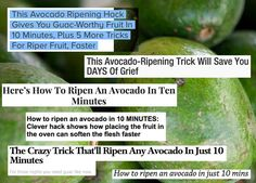 This week, the internet's been going wild over a well-reported food hack that's said to ripen avocados in 10 minutes. | I Tried The 10-Minute Avocado-Ripening Hack Everyone's Been Talking About