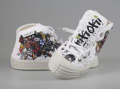 tenisky topánky pánske dámske tito graffiti tikoki