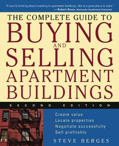 The Complete Guide to Buying and Selling Apartment Buildings by Steve Berges, http://www.amazon.com/dp/B008L03VOS/ref=cm_sw_r_pi_dp_QBB2rb1MCWVEB