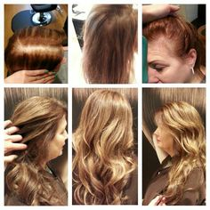 Before and After Balayage Highlights Hair Color Transformation by Lisa Fukuda 415 433 3030 Joseph Cozza Salon  Haircut/Style by Katie