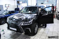 Lexus LX570, Full wrapping in protection film Hexis Bodyfence