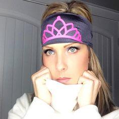 Hippie Runner - PRINCESS CROWN, $8.00 (http://www.hippierunner.com/princess-crown/) pink with white crown