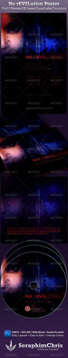 Movie Poster Template Vol.6 | Movie poster template