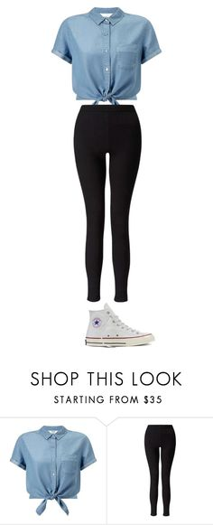 """""""Untitled #1"""" by hipsterjules ❤ liked on Polyvore featuring Miss Selfridge and Converse"""