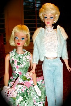 Vintage Blonde's: American Girl and Bubble cut Barbie's
