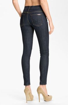Hudson Jeans 'Nico' Mid Rise Skinny Jeans (Abbey) available at #Nordstrom