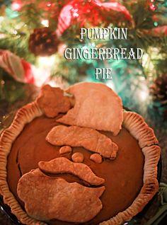Pumpkin Gingerbread Pie