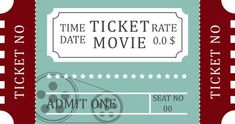 Ticket Stub transparent background PNG cliparts free download   HiClipart