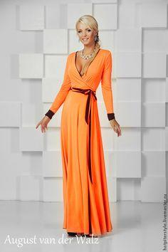 """Купить Платье """"Два Характера в одном"""") - однотонный, платье в пол, макси платье, летнее платье"""