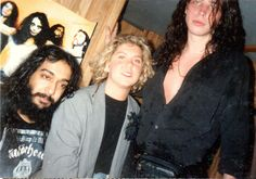 """""""#TBT At Summers on the Beach with my heroes at the time, Soundgarden.  Sufficed to say, I was louder than love during the show. And after the show, got to meet them out back.  They got such a kick out of the 12"""" single I had brought for them to sign (featuring Beatles' """"Come Together"""" cover) that I got to hang out with them for a bit on the bus. Dream come true.""""- Tricia Sotolongo Mundarain"""