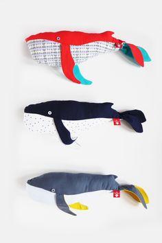 The ADVENTURE Begins preszent: softy #whale, #handmade cotton moby dick  https://www.facebook.com/theadventurebegins