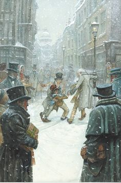 PJ Lynch Gallery - Books: A Christmas Carol