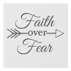 Faith over Fear canvas - cheap gifts diy cyo unique gift ideas Fear Tattoo, 16 Tattoo, Bible Verse Tattoos, Ruby Tattoo, Tattoo Quotes, Line Tattoos, Word Tattoos, Neck Tattoos, Basic Tattoos