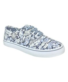 Look what I found on #zulily! Gray Floral Enchant Sneaker #zulilyfinds