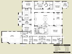 Spanish style home floor plans