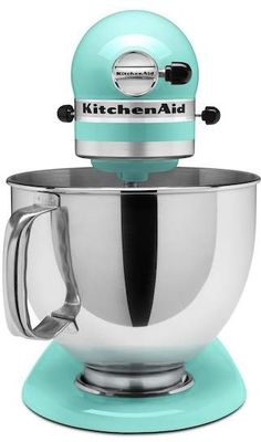 One of the best stand mixer's on the market in a modern Ice Blue color. Add some pizzazz to your kitchen. #affiliate