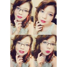 #makeup #contouring #nomirrorchallenge #glasses #foundation #cosmetics