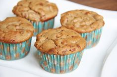 Skinny Apple Pie Muffins | Skinny Mom | Tips for Moms | Fitness | Food | Fashion | Family
