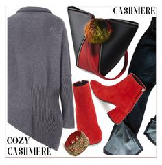 """Cozy Cashmere Sweaters"" by paculi ❤ liked on Polyvore featuring Gap, Topshop and cashmere"