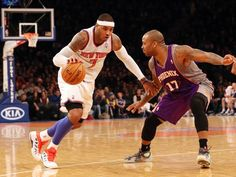 Carmelo Anthony leads New York Knicks vs. Phoenix Suns