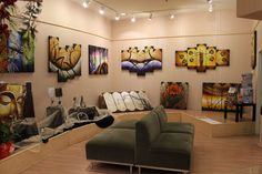 Started by a group of freelance artists in 2011, we established a brick-n-mortar contemporary art gallery in Richmond BC, Canada. With over 100 original designs, our paintings will bring an unique flair into your living space with prices that put a smile on your face.  Our Website: www.StudioMojoArtwork.com  Etsy: www.etsy.com/shop/StudioMojoArtwork  FB: www.facebook.com/StudioMojoArtwork  Pinterest: www.pinterest.com/StudioMojoArt