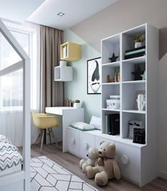 New Images Concepts Got kids ? You then understand that their stuff winds up literally all over the home! Kids Bedroom Designs, Kids Room Design, Apartment Interior, Room Interior, Baby Room Decor, Bedroom Decor, Cool Kids Rooms, Diy Zimmer, Toddler Rooms