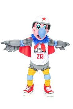 Photos: Meet Chuck, the LA Clippers Mascot - 2/29/16