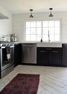 Full Kitchen Reveal: Ikea Laxarby Cabinets