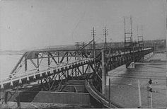 New Westminster Rail Bridge opened in  1904