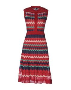 M MISSONI Knee-length dress. #mmissoni #cloth #dress #top #skirt #pant #coat #jacket #jecket #beachwear #