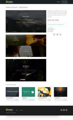 Hetic portfolio design