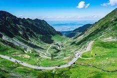 Flavia Balan Travel Story (@flaviamariejeane) • Transfăgărășan, Romania Stunning Photography, Romania, San, In This Moment, Explore, Adventure, Mountains, Places, Green