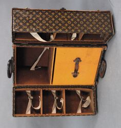 Nadeau's Auctions - Louis Vuitton file trunk each opening side - Realized Price: $14,950.00