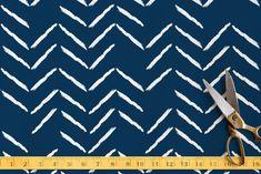 Herringbone Incomplete Fabric by Lehan Veenker at minted.com