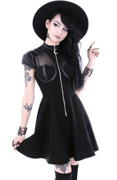 Restyle - Future Goth Dress